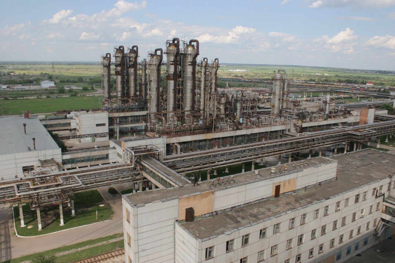 Decommissioning of the strong nitric acid production and the first and second ammonia lines due to their obsolescence.
