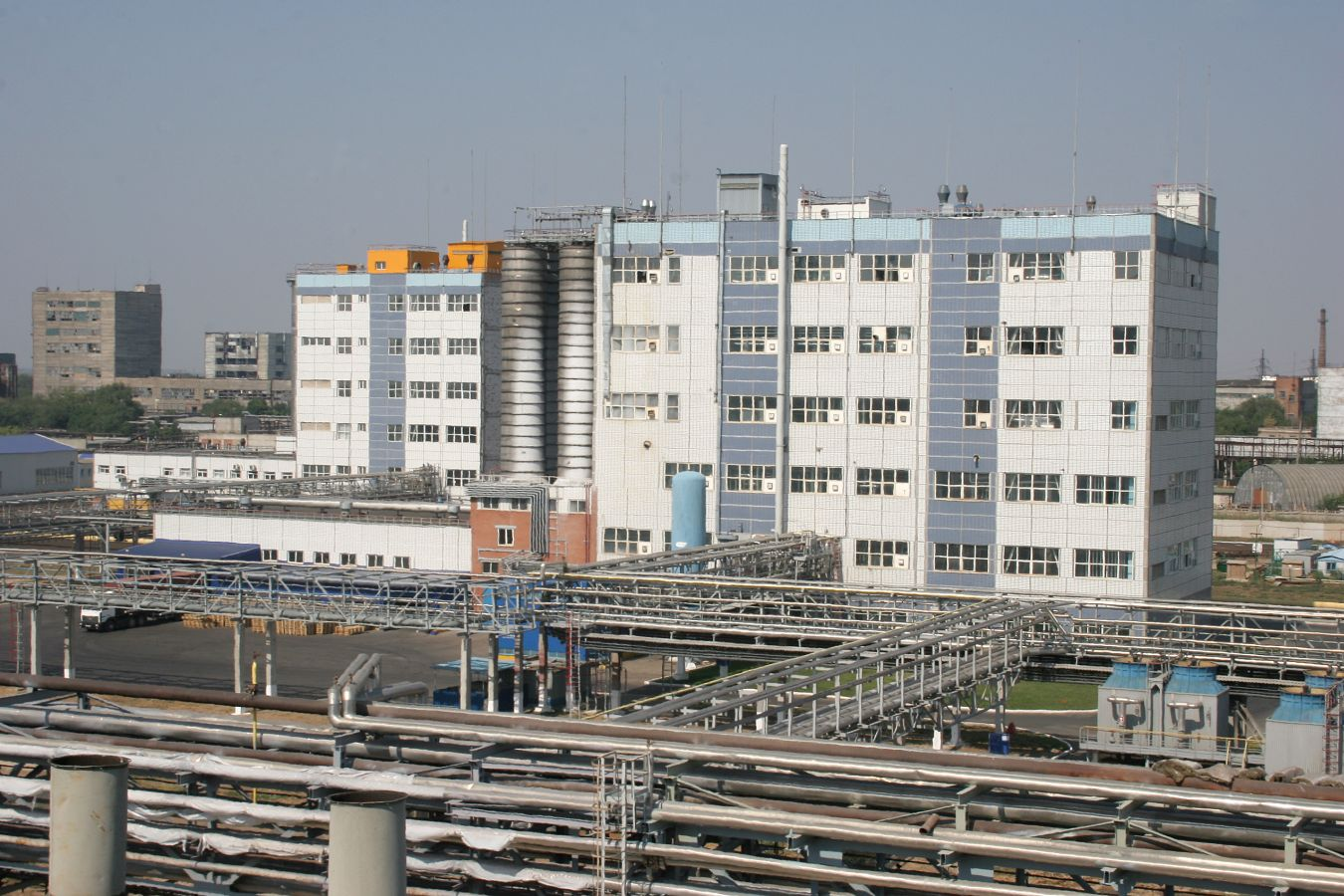 Start-up of the second polyamide-6 production line.